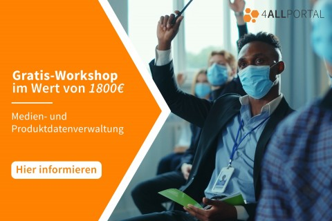 Gratis Workshop mit 4ALLPORTAL
